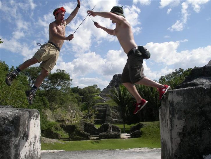 Belize Xanantunich Ruins