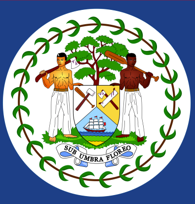 Belize Coat of Arms Symbol