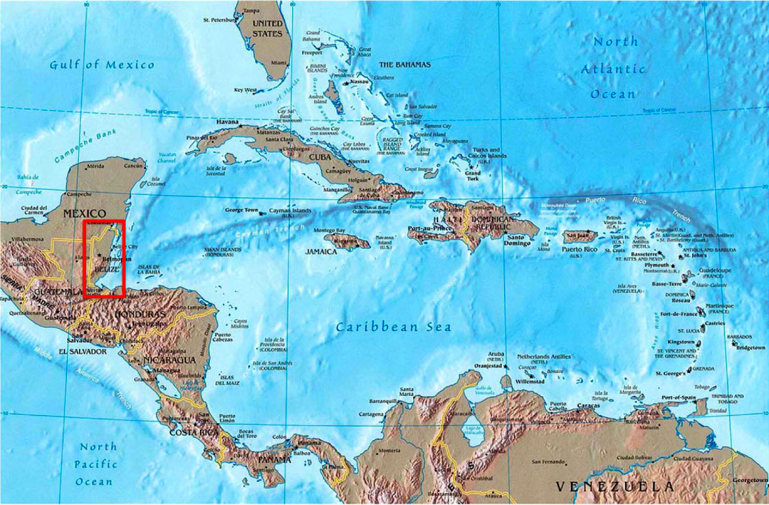 Geography of Belize - Expats In Belize