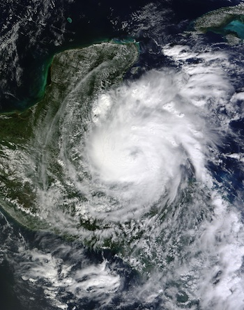 Hurricane Richard 2010-10-24 - Geography of Belize