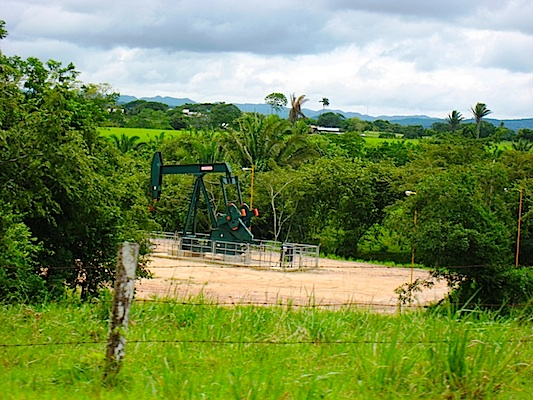Oil Field in Spanish Lookout Belize - Geography of Belize