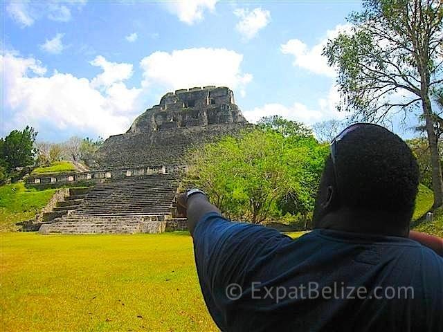 Xunantunich Ruins in Western Belize