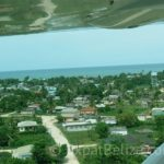 Aerial View of Punta Gorda Belize