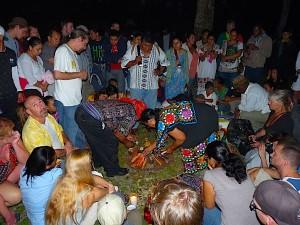 Belize December 2012 Celebration at the Ruins