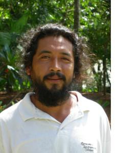 Lucas Medina, a traditional forest gardener