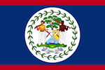 Flag of Belize Central America