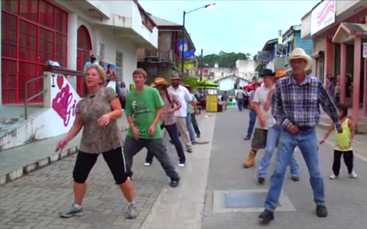 Flash Mob San Ignacio Town