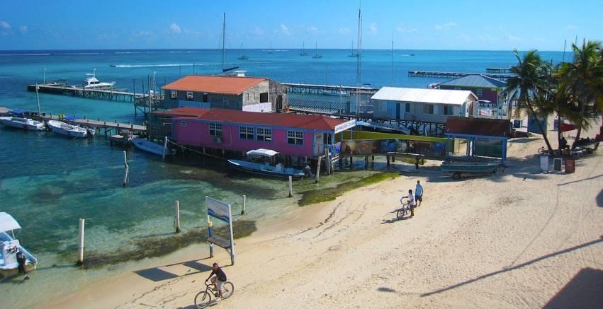 Travel to Belize San Pedro Beach