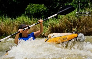 Kayaking in Belize 16